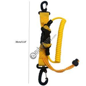 5 PCS Diving Tool Anti-lost Spring Rope Diving Accessories Diving Camera Cover Against Spring Rope