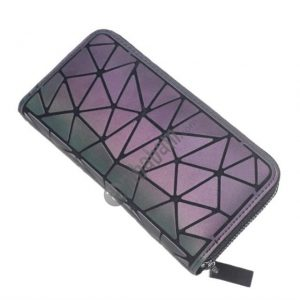 Y800 Women Long Wallets Geometric Lattice Wallet Women Clutch Bag