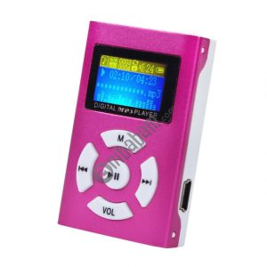 Portable TF (Micro SD) Card Slot MP3 Player with LCD Screen