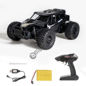 HELIWAY DM-1801 2.4GHz Four-way Remote Vehicle Toy Car with Remote Control (Black)
