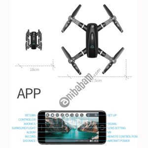 S167 2.4G 720P WIFI Foldable GPS Positioning Remote Control Aircraft RC Quadcopter Drone