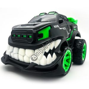 HD885J Devil Tooth Shape 360 Degree Upright Rotation Stunt Remote Control Car Electric Vehicle Toy