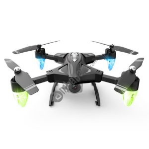LANSENXI F69 2.4GHz 4-Axis 4CH Foldable HD Aerial Photography Quadcopter with 0.3MP Camera