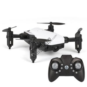 LF606 Mini Quadcopter Foldable RC Drone without Camera, One Battery, Support One Key Take-off / Landing, One Key Return, Headless Mode, Altitude Hold Mode
