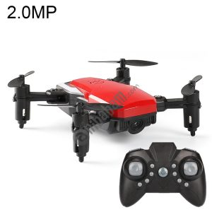 LF606 Wifi FPV Mini Quadcopter Foldable RC Drone with 2.0MP Camera & Remote Control, One Battery, Support One Key Take-off / Landing, One Key Return, Headless Mode, Altitude Hold Mode