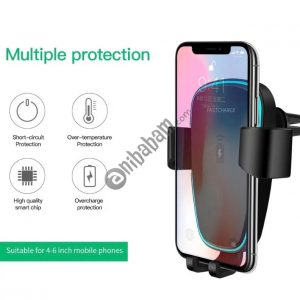 Wireless car charger charging holder QI mobile phone 10W fast wireless charger