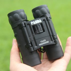 12X25 Telescope Low Light Night Vision High Power HD Pocket Binoculars