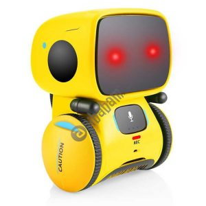 Intelligent Robot Early Education Voice Interactive Touch Sensing Puzzle Children Toys Multifunctional Infant Early Education Machine