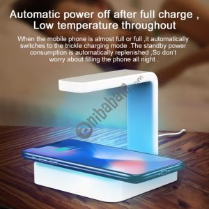 Multi-functional UV Light Disinfection Sterilization Wireless Charger for Phone