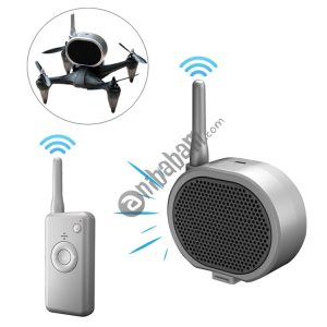 Real Time Pager Portable Speaker Long-distance Interference Free Loudspeaker for Drone (Dark Gray) – Drone NOT INCLUDED