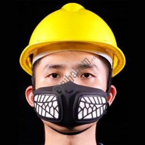 Silicone Protective Reusable PM2.5 KN95 Respirator Mask Replaceable Filter Antivirus Anti-fog Face Mask