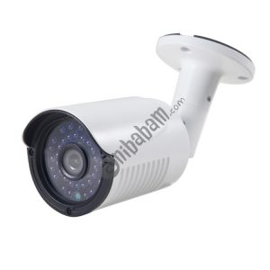 COTIER 632A CE & RoHS Certificated Waterproof 3.6mm 3MP Lens AHD Camera with 36 IR LED, Support Night Vision & White Balance