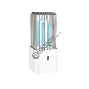 X14 USB Quartz Tube UV Light Ultraviolet Disinfection Sterilization Desktop Lamp (White)