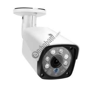 A8B3 / Kit 8CH 1080N Surveillance DVR System and 720P 1.0MP HD Weatherproof Bullet Camera, Support Infrared Night Vision & P2P & Phone Remote Monitor (White)