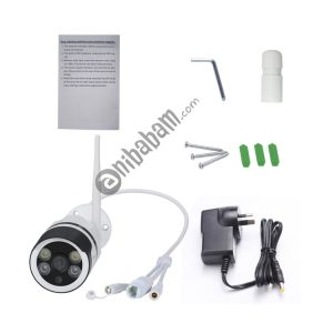 ESCAM QF508 Waterproof 2-way Audio Surveillance Security HD 1080P Wireless Wifi IP Bullet Camera, Support Night Vision / Motion Detection, IR Distance: 10m