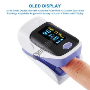 AB-80 Precision Finger Pulse Oximeter Blood Oxygen Monitor