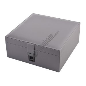 Fingerprint Lock Jewelry Box Jewelry Storage Box Jewelry Box Anti-Theft Fingerprint Jewelry Box