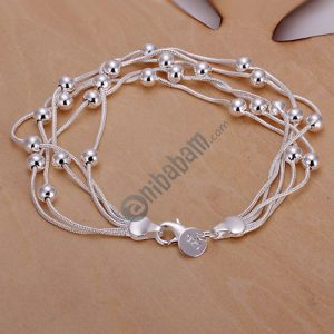 925 Silver Plated Jewelry Fashion Bracelet